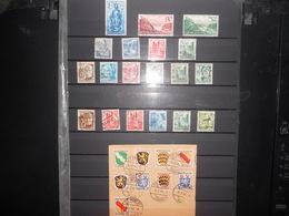 Collection ,allemagne Zone Française Lot De 60 Timbres Obliteres - Stamps