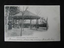 CPA LAMALOU LES BAINS  SOURCE DE L'USCLADE MG (34 HERAULT) ANIMEE FEMME CACHET LE VIGAN GARD 1902 - Lamalou Les Bains