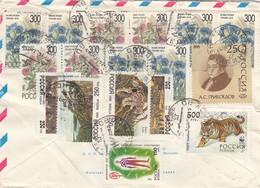 LETTRE  COVER RUSSIA  /  2 - Briefmarken