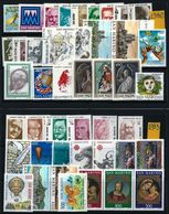San Marino 1982 E 1983 - ANNATA COMPLETA ** - 24 Fb + 20 Fb - Cat. ? - Lotto N. 102 A - Annate Complete