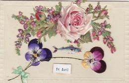 JOLIE CARTE EN RELIEF - April Fool's Day