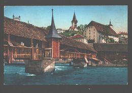 Luzern - Spreuerbrücke - LU Lucerne