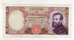 "Italia - Banconota Da Lire 10.000 ""Buonarroti"" Decreto 03.07.1962 -  (FDC8540) - [ 2] 1946-… : Républic"