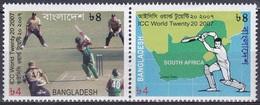 Bangladesch Bangladesh 2007 Sport Spiele Ballspiele Twenty-20-Kricket-Weltmeisterschaft Cricket Batsman, Mi. 898-9 ** - Bangladesch
