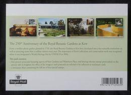 UK 2009. Kew Gardens. Set Of Maxicards + Miniature Sheet - Maximumkarten (MC)