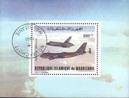 Mauritania (Mauritanie) Space Exploration, Espace Used Cancelled Block M/S (U-66) - Mauritania (1960-...)