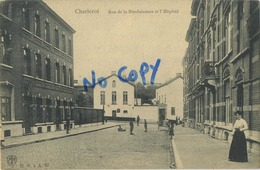 Charleroi : Rue De La Bienfaisance Et L' Hopital - Charleroi
