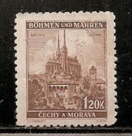 BOHEME ET MORAVIE   N°  49   OBLITERE - Bohême & Moravie
