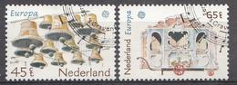 Pays-Bas 1981  Mi.nr: 1186-1187 Europa  Oblitérés / Used / Gestempeld - 1980-... (Beatrix)