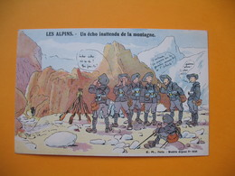 Les Alpins   - Un écho Inattendu De La Montagne - Humour