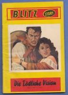 BLITZ ROMAN - Die Tödliche Vision, 64 Seiten, Gute Erhaltung - Bücher, Zeitschriften, Comics