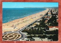 Rimini, Grosse Strand, EF Fresko Kopf, Misano Adriatico Nach Hamburg 1968 (47449) - Rimini