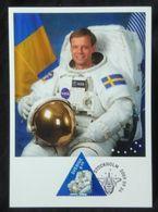 Sweden 2009. Mi 2714-2718. Journey In Space. 1st Swedish Astronaut - 3 Years. Set Of Maxicards - Spazio