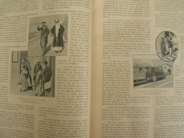 1898/N°06 A TRAVERS LE MONDE:CHEMIN DE FER BEYROUTH-DAMAS-MZERIB/DANEMARK NAVIRE-AMPHIBIE/TODAVAS DU NILGHIRI - Livres, BD, Revues
