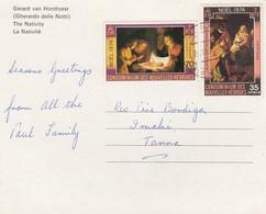CARD NOUVELLES HEBRIDES  /  2 - Francobolli