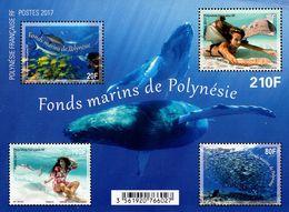 French Polynesia - 2017 - Marine Fund Of Polynesia - Mint Souvenir Sheet - Polynésie Française