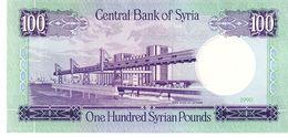 Syria P.104 100 Pounds 1990 Unc - Siria