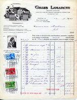 MANUFACTURE DE TABACS CIGARETTES- GILLES LAMARCHE-1939- TABACS DUMONT- - Bélgica