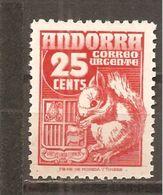 Andorra Española - Edifil 58 - Yvert 52 (MH/(*)) (sin Goma) - Andorra Española