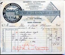 VVE.JH. DUBOIS AINE & CIE.- DENRÉES COLONIALES- 1905- ARLES-SUR-TECH- - Francia