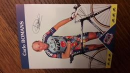 Carlo BOMANS Mapei GB 1997 - Radsport