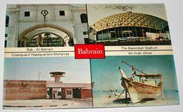 BAHRAIN: Bab-Al Bahrain/Basketball Stadium/Coastguard Headquarters-Muharraq/Arab Dhow(1983) - Bahrain