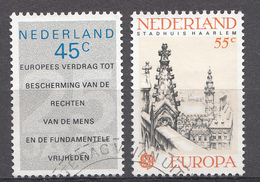 Pays-Bas 1978  Mi.nr: 1119-1120 Europa  Oblitérés / Used / Gestempeld - 1949-1980 (Juliana)