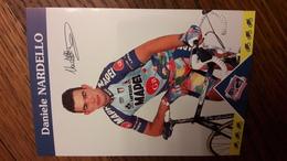 Daniele NARDELLO Mapei GB 1997 - Cyclisme