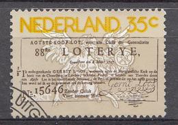Pays-Bas 1976  Mi.nr: 1063 Staatslotterie  Oblitérés / Used / Gestempeld - Period 1949-1980 (Juliana)