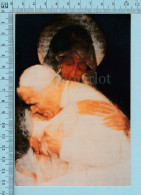 Medjugorje  - Photo Prise Au Miracle Du Soleil , Pape Jean Paul II Et Marie,   Voir Memo En Arriere De La Photo - Religion & Esotericism