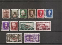 Allemagne - Administration En Albanie ( Lot De Timbres Divers Différents XXX -MNH) - Occupation 1938-45