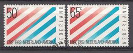 Pays-Bas 1982  Mi.nr: 1207-1208 200.Jahre Diplomatische....  Oblitérés / Used / Gestempeld - 1980-... (Beatrix)