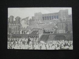 CARTE PHOTO ARENES DE BEZIERS DRAME DEJANIRE THEATRE (34 HERAULT) ANIMEE - Beziers