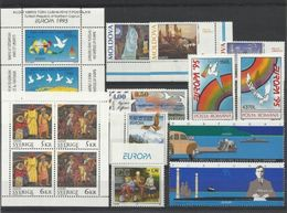 1995 EUROPA CEPT EUROPE 52 Paesi (96 Valori) 52 Countries MNH** Annata Exc. Bosnia Croata E Russia - Europa-CEPT