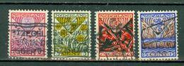 Ned. 1927  Yv. 195/198, NVPH 208/211, Mi 201/204 - 1891-1948 (Wilhelmine)