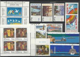1995 EUROPA CEPT EUROPE 51 Paesi (94 Valori) 51 Countries MNH** Annata Exc. Bosnia Croata, Malta E Russia - Europa-CEPT