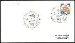 ITALIA GAVIRATE (VA) 1986 - PROGETTO SCUOLA SPORT - CARD - Francobolli