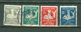 Ned. 1929/30  Yv. 223/226, NVPH 225/228 - 1891-1948 (Wilhelmine)