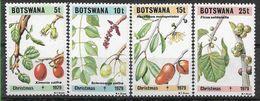 1979 BOTSWANA 391-94** Flore Et Fruits - Botswana (1966-...)