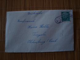 """BRD Brief Mit Landpoststempel """" Tungeln über Oldenburg """" - BRD"""