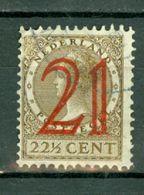 Ned. 1929  Yv. 222, NVPH 224 - 1891-1948 (Wilhelmine)
