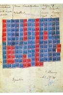 WW2 - Photo - Feuille De Rentrée De Tickets De Rationnement De Viande Le 01.09.1941 - - 1939-45