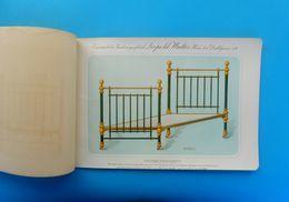 1880's - BRASS FURNITURE - AUSTRIA ANTIQUE CATALOG - LEOPOLD WALTER , WIEN * Osterreich Messingmobel Katalog Vienna RRRR - Furniture