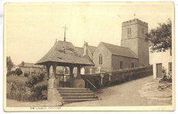 Inghilterra Mortehoe The Church Non Viaggiata - Inghilterra