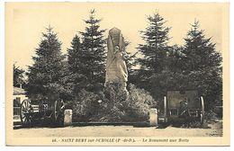 SAINT REMY SUR DUROLLE - Le Monument Aux Morts - Francia