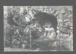 Grottes De Crupey - St.-Antoine Enfant De Choeur Chasse Le Démon - Assesse
