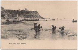 CPA Italia - Napoli - Napule - Naples - Golfo Di Napoli - Am Golf Von Neapel - Cartolina Postale - Postcard - Napoli (Naples)