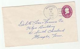 1962 Cassatt Sc USA 4c Postal STATIONERY COVER Stamps - Postal Stationery
