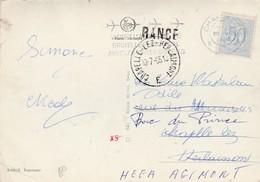Rance , Griffe Linéaire ,cachet Charleroi + Cachet Repartie De Chapelle-lez-Herlaimont,panorama Rance - Marcofilia