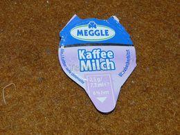 Meggle Milk Top Milk Lid Kaffeesahne Kaffee Milch Coffee Cream Crema De Café Café Crème - Milk Tops (Milk Lids)